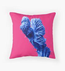 Funky Cactus Throw Pillow