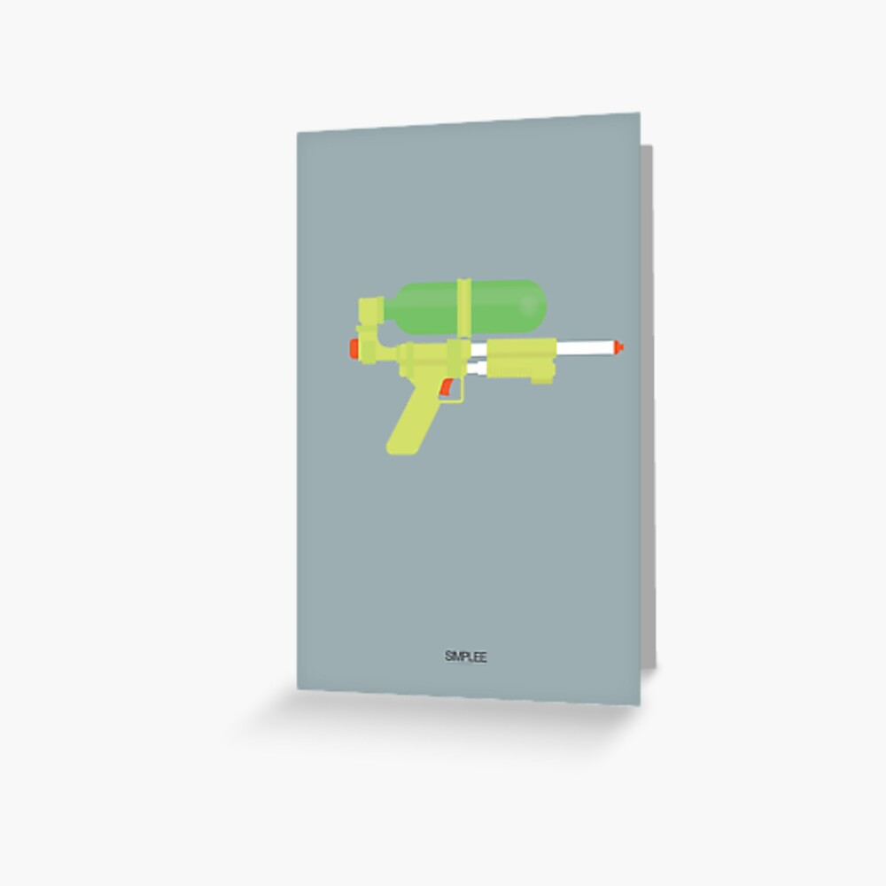 Simplee Cards: Super Soaker Greeting Card