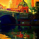 Princes Bridge-Melbourne by Guntis Jansons
