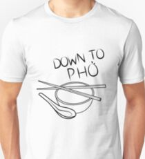 Down to Pho Unisex T-Shirt
