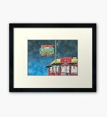 """Tony's Cable Car"" Framed Print"