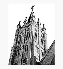 The Bell Tower. Saint Marys Church, Warwick Queensland Photographic Print