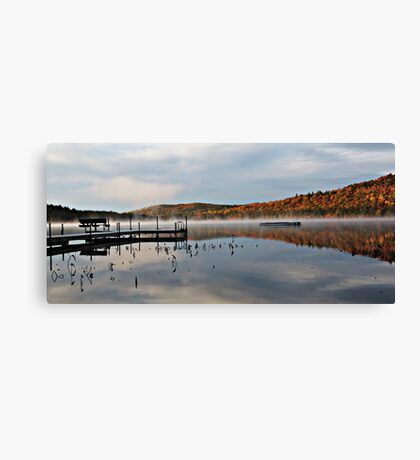 Autumn - Stearns Pond Canvas Print