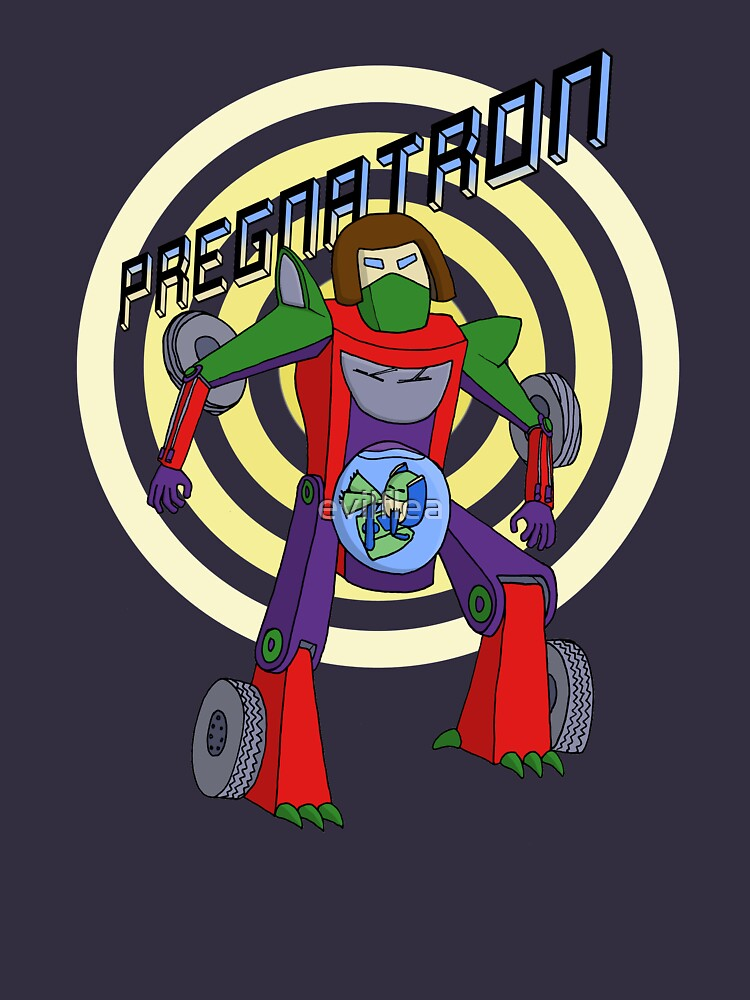 Pregnatron by evilflea
