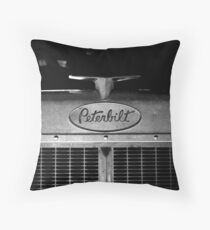 Peterbilt Throw Pillow