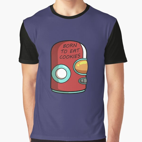 Final Space Gary Born To Eat Cookies Graphic T-Shirt