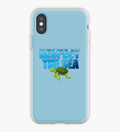 Respect the Sea iPhone Case