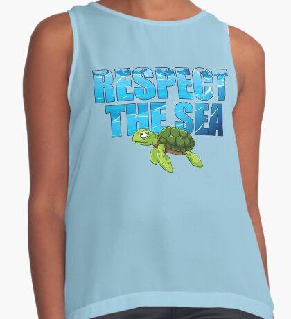 Respect the Sea Sleeveless Top