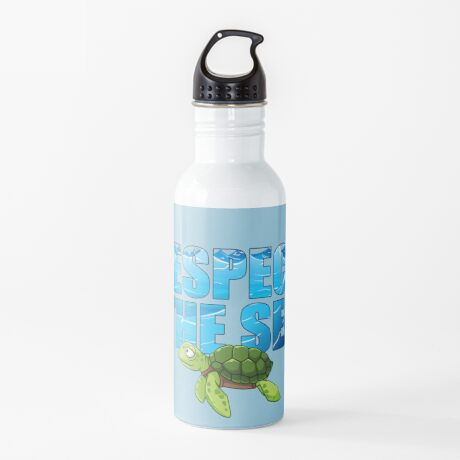 Respect the Sea Water Bottle