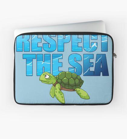 Respect the Sea Laptop Sleeve