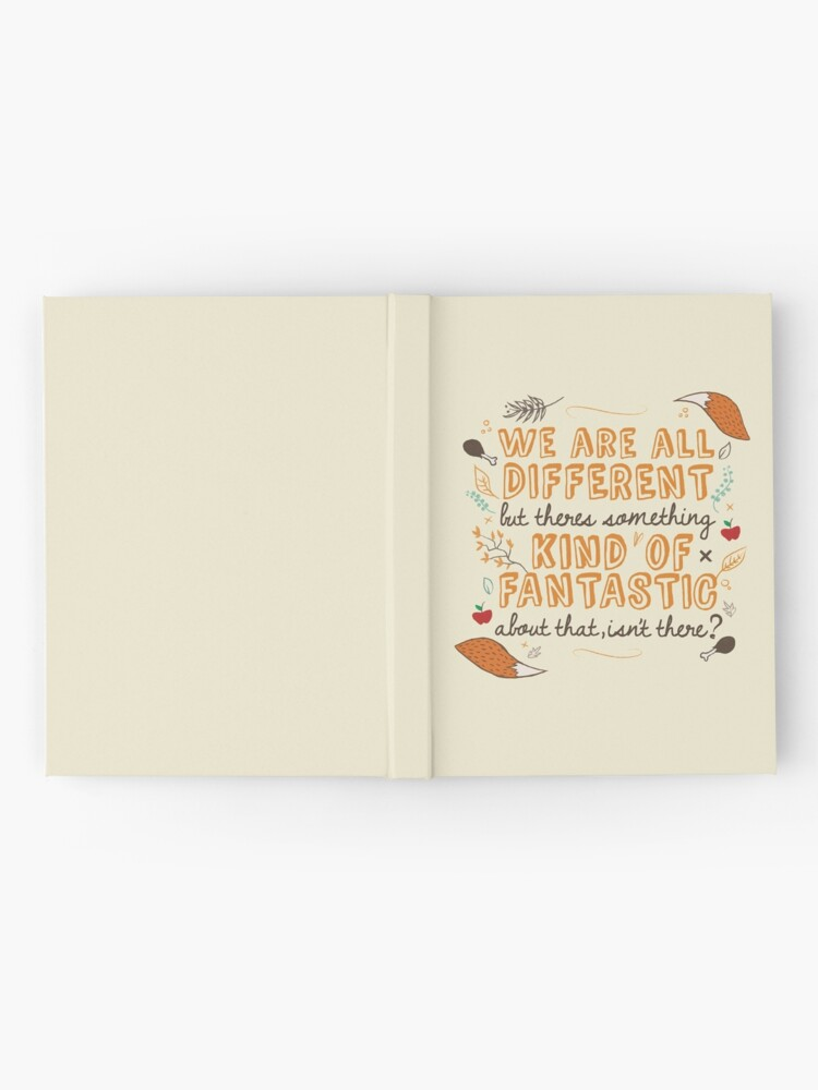 Alternate view of We Are Fantastic Hardcover Journal