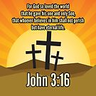 John 3:16 - the most quoted Bible verses by Andy Renard