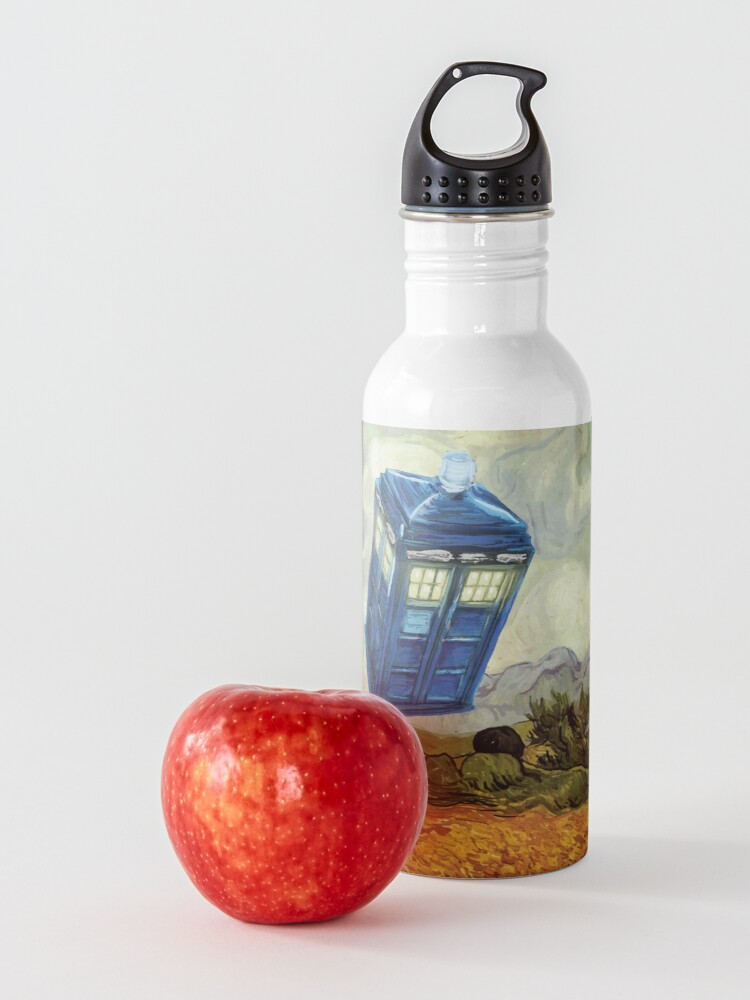 Alternate view of Vincent and the Doctor Water Bottle