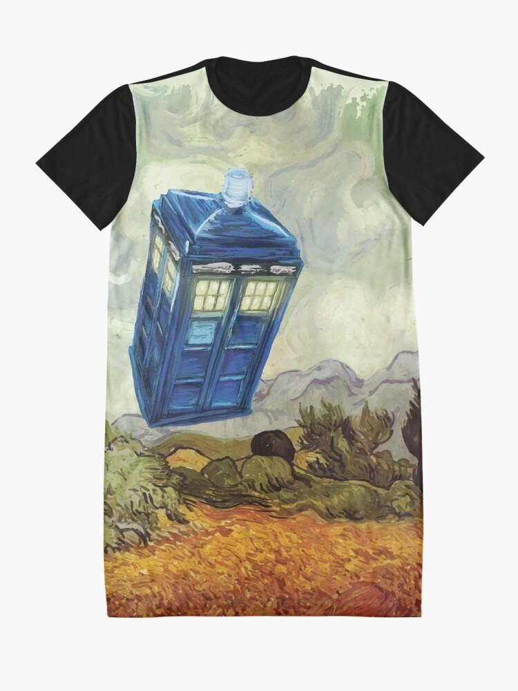Alternate view of Vincent and the Doctor Graphic T-Shirt Dress