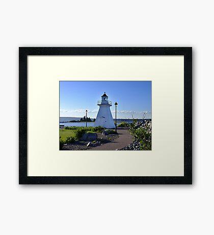 Port Medway Lighthouse Framed Print