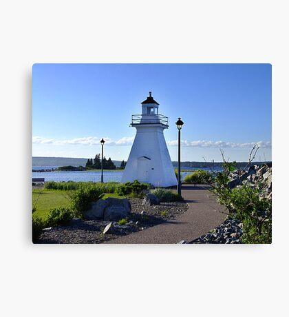 Port Medway Lighthouse Canvas Print