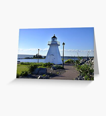 Port Medway Lighthouse Greeting Card