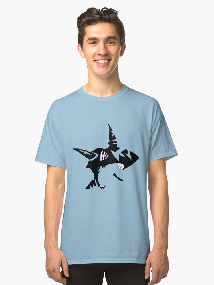Mega Sharpedo Classic T-Shirt Front