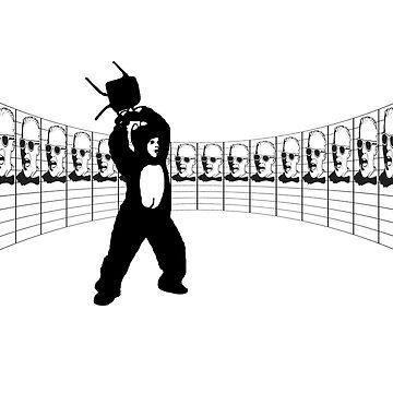 angry panda by AnthonyKnauf