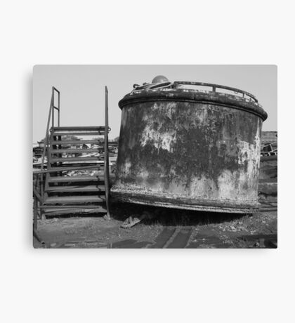 Mooring Buoy Canvas Print