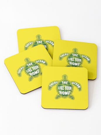 Treat the Ocean like your Home Coasters
