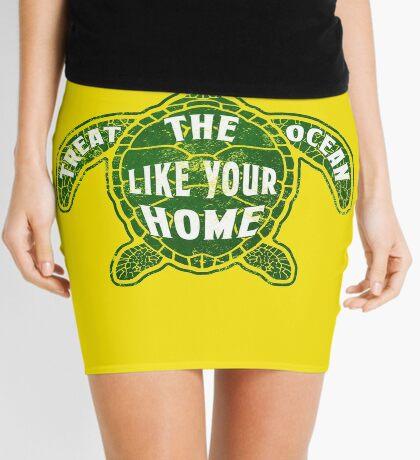 Treat the Ocean like your Home Mini Skirt