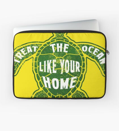 Treat the Ocean like your Home Laptop Sleeve