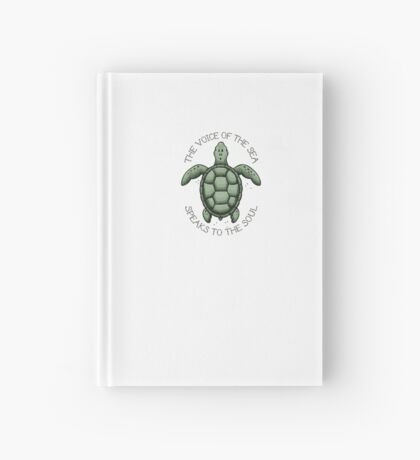 The Voice of the Sea Speaks to the Soul Hardcover Journal