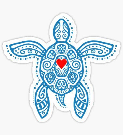 Sea Turtle Hope - Tribal Sticker