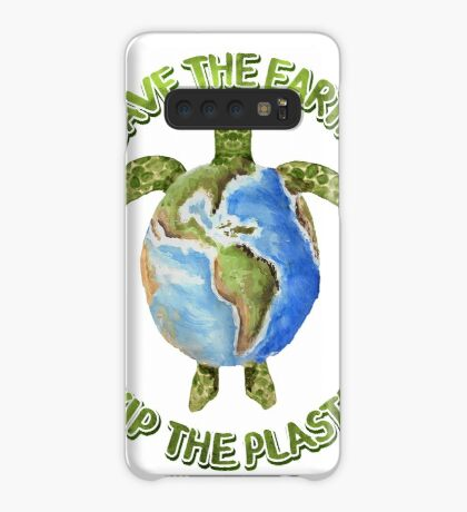 Save the Earth Skip the Plastic Case/Skin for Samsung Galaxy