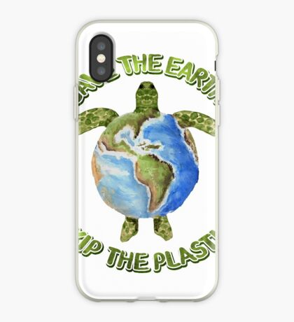 Save the Earth Skip the Plastic iPhone Case