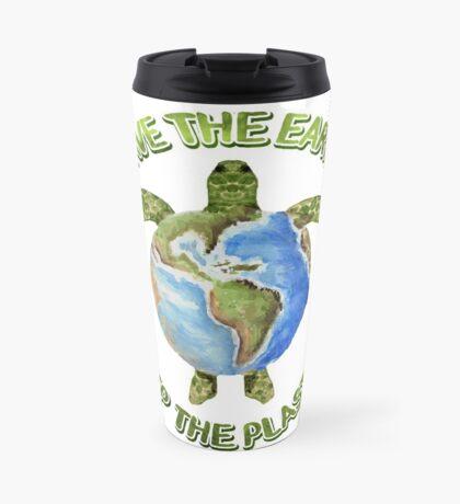Save the Earth Skip the Plastic Travel Mug