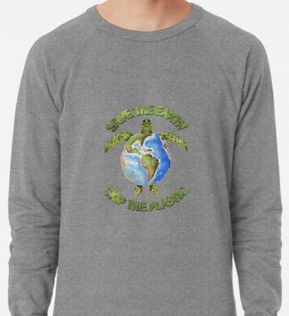 Save the Earth Skip the Plastic Lightweight Sweatshirt