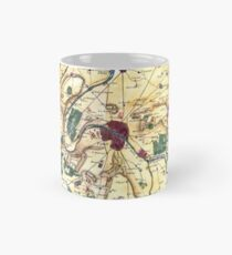 Map of the environs of Paris, France, Bonne,1780 Mug