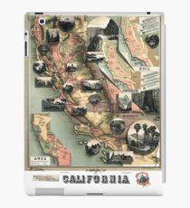 California - United States - 1888 iPad Case/Skin