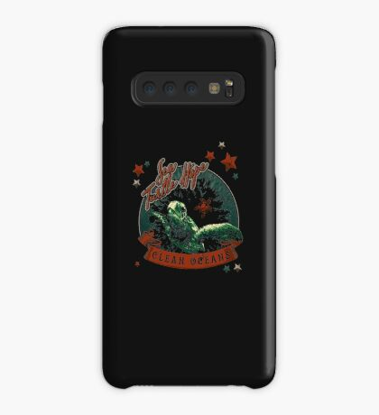 Sea Turtle Hope - Vintage Pop Case/Skin for Samsung Galaxy