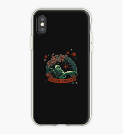 Sea Turtle Hope - Vintage Pop iPhone Case