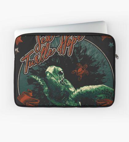 Sea Turtle Hope - Vintage Pop Laptop Sleeve