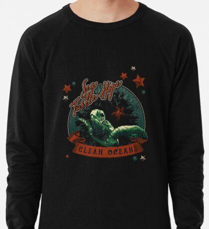Sea Turtle Hope - Vintage Pop Lightweight Sweatshirt