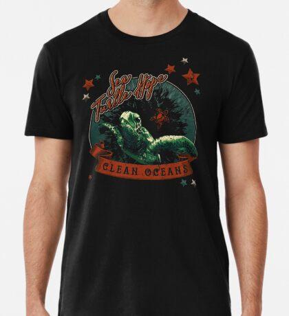 Sea Turtle Hope - Vintage Pop Premium T-Shirt