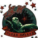 Sea Turtle Hope - Vintage Pop by mavisshelton