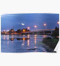 Toukley Bridge 20-10-2010  Poster