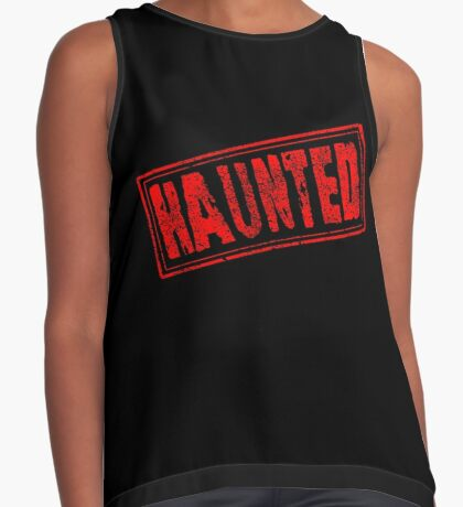 Haunted Sleeveless Top
