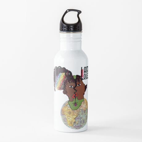 Zen I Am Sacral Flow  Water Bottle