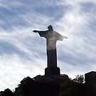 Corcovado in the clouds - a Rio Icon by John Dalkin