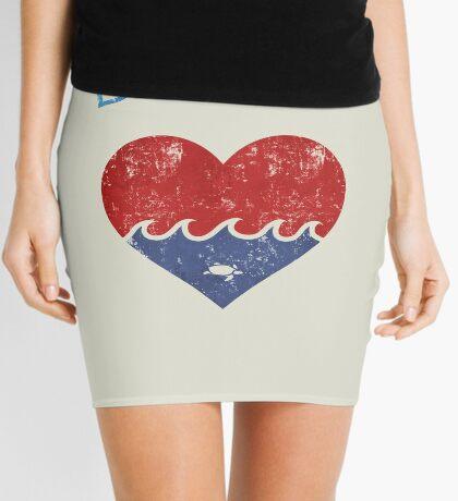 Beach LOVE  Mini Skirt