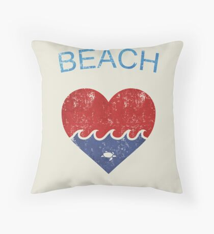 Beach LOVE  Floor Pillow