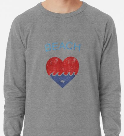 Beach LOVE  Lightweight Sweatshirt