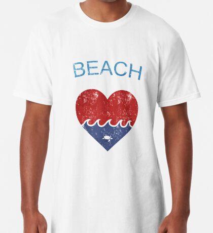 Beach LOVE  Long T-Shirt