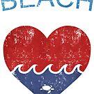 Beach LOVE  by mavisshelton